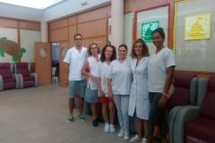 Equipo de Trabajadores Asociación de Amigos de Alzheimer de Caudete